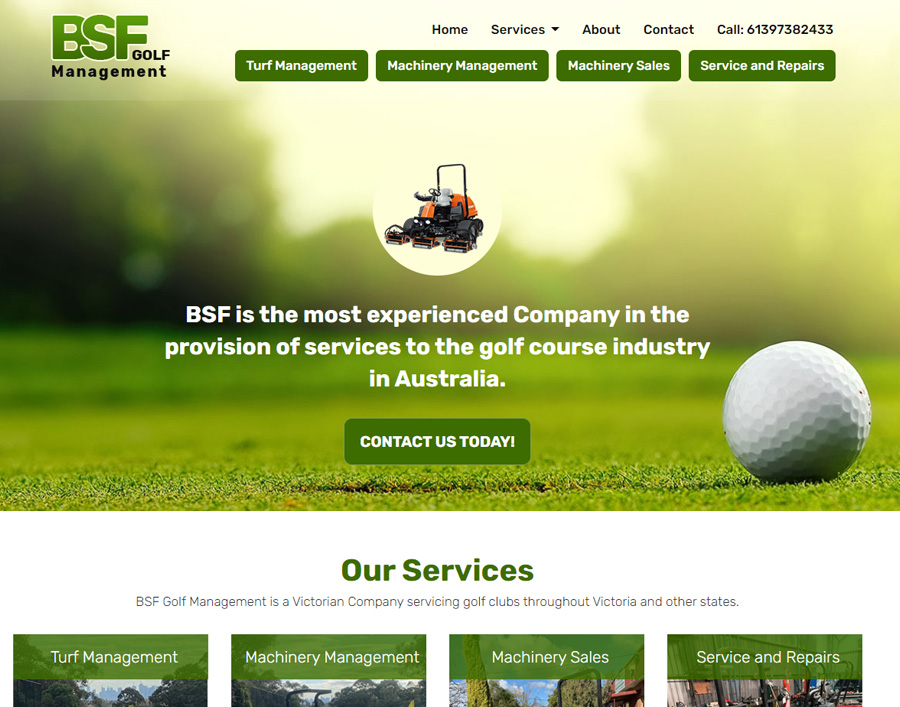 BSF Golf Management